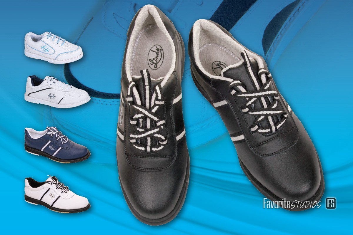 Quality Bowling Shoe Shots - for Linds Shoe Company